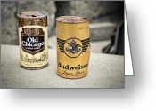 Beer Greeting Cards - This Buds for you Greeting Card by Scott Norris