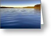 Lakescape Greeting Cards - This is British Columbia 13 - Swalwell Lake A Fishermans Retreat Greeting Card by Paul W Sharpe Aka Wizard of Wonders