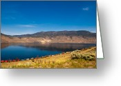 Kamloops Greeting Cards - This is British Columbia 8 - Kamloops Lake Greeting Card by Paul W Sharpe Aka Wizard of Wonders