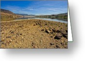 Kamloops Greeting Cards - This is British Columbia No.31 - Kamloops Lake Savona Greeting Card by Paul W Sharpe Aka Wizard of Wonders