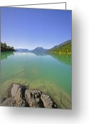 Northshore Greeting Cards - This is British Columbia No.65 - Surrounded By Beauty Greeting Card by Paul W Sharpe Aka Wizard of Wonders
