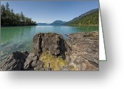 Northshore Greeting Cards - This is British Columbia No.66 - Surrounded By Beauty II Greeting Card by Paul W Sharpe Aka Wizard of Wonders