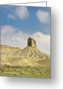 Mesa Verde Greeting Cards - This is Colorado No. 4C - Mancos Canyon Greeting Card by Paul W Sharpe Aka Wizard of Wonders