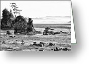 Oregon Wildlife Digital Art Greeting Cards - This is Oregon State 9 - Crab Rock in the Sow and Pigs Greeting Card by Paul W Sharpe Aka Wizard of Wonders