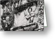 Assisi Greeting Cards - This is the Philippines No.56 - St. Francis de Assisi Church Greeting Card by Paul W Sharpe Aka Wizard of Wonders