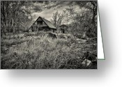 Log House Greeting Cards - This is Utah No. 23 - The House with Bottle Walls Greeting Card by Paul W Sharpe Aka Wizard of Wonders