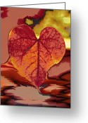 Photographs Digital Art Greeting Cards - This One is for Love Greeting Card by Linda Sannuti
