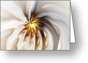 Abstract Flowers Greeting Cards - This too will pass... Greeting Card by Amanda Moore