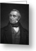 Autograph Greeting Cards - Thomas Babington Macaulay Greeting Card by Granger
