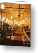 Thomas Edison Greeting Cards - Thomas Edisons Laboratory Greeting Card by Science Source