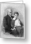 Grandson Greeting Cards - Thomas H. Huxley (1825-1895) Greeting Card by Granger