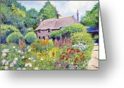 Most Greeting Cards - Thomas Hardy House Greeting Card by David Lloyd Glover