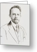 Personality Greeting Cards - Thomas Hunt Morgan, American Geneticist Greeting Card by Science Source