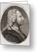 1711 Greeting Cards - Thomas Wright, British Astronomer Greeting Card by Middle Temple Library