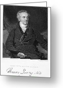 Signature Greeting Cards - Thomas Young (1773-1829) Greeting Card by Granger