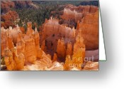 Bryce Canyon Greeting Cards - Thors Hammer at Bryce Canyon in Utah Greeting Card by Alex Cassels