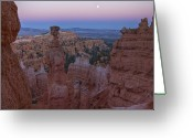 Bryce Canyon Greeting Cards - Thors Hammer Greeting Card by Photography by David Thyberg