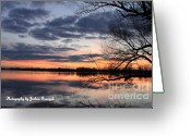 True Colors Greeting Cards - Three color shadow Greeting Card by Joshua Fronczak