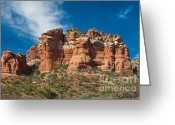 Butte Creek Greeting Cards - Throne Rock Greeting Card by Jim Chamberlain