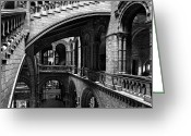 Williams Photo Greeting Cards - Through the Arches Greeting Card by Martin Williams
