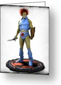 Thundercats Greeting Cards - Thundercats 3000 - Lion-O v1 Greeting Card by Frederico Borges