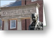 Thurgood Greeting Cards - Thurgood Marshall Memorial in Annapolis Greeting Card by William Kuta