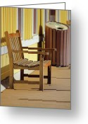 Wv Greeting Cards - Thurmond Train Station Greeting Card by Melissa Petrey