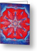 Petals Reliefs Greeting Cards - THY WILL ... be done Greeting Card by Kristi Ann