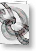 Maria Urso Greeting Cards - Tied The Knot Greeting Card by Maria Urso - Artist and Photographer