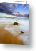 ; Maui Photo Greeting Cards - Tied to the Past Greeting Card by Mike  Dawson