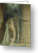 Nudes Greeting Cards - Till Death Us Do Part Greeting Card by SCH Goetze