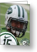 Boston Stadium Greeting Cards - Tim Tebow - New York Jets Florida Gators - Timothy Richard Tebow Greeting Card by Lee Dos Santos