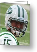 Hollywood Bowl Greeting Cards - Tim Tebow Art Deco III - New York Jets -  Greeting Card by Lee Dos Santos