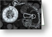 Time Photo Greeting Cards - Time and money Greeting Card by Bob Orsillo