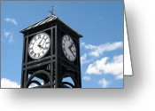 Weathervane Greeting Cards - Time and Time Again Greeting Card by Ann Horn