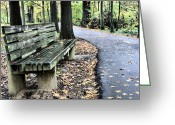 Jogging Photo Greeting Cards - Time for a Rest Greeting Card by JC Findley
