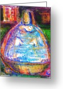 Bath Time Greeting Cards - Time to Chill Greeting Card by Russell Pierce