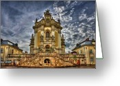 Cathedral Greeting Cards - Timeless Beauty Greeting Card by Evelina Kremsdorf