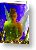 Tink Greeting Cards - Tink Greeting Card by Nicholas Evans