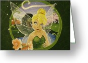 Tink Greeting Cards - Tink Greeting Card by Rebecca Marquardt