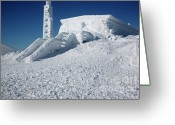 Appalachian Trail Greeting Cards - Tip Top House - Mount Washington New Hampshire  Greeting Card by Erin Paul Donovan