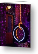 Ronnie Glover Greeting Cards - Tire Swing Greeting Card by Ronnie Glover