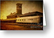 Boxcar Greeting Cards - Titletown Brewing Company Greeting Card by Joel Witmeyer