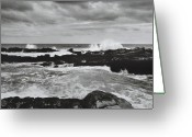 Rough-seas Greeting Cards - Titsikamma Greeting Card by Terence Davis