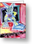 States Pastels Greeting Cards - To be a Star Greeting Card by Levi Glassrock