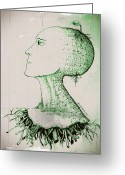 Different Ideas Greeting Cards - To Germinate Ideas Greeting Card by Paulo Zerbato