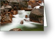 Tuolumne Greeting Cards - To Where the River Flows Greeting Card by Jeffrey Campbell