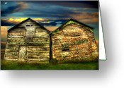 Sheds Greeting Cards - Together Until The End Greeting Card by Thomas Young