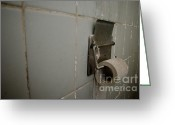 Toilet Paper Greeting Cards - Toilet paper Greeting Card by Mats Silvan