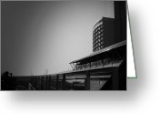 Traffic Greeting Cards - Tokyo Metro Station Greeting Card by Irina  March